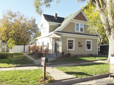 Haxtun Single Family Home For Sale: 242 W Chase St