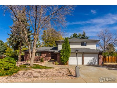 Longmont Single Family Home For Sale: 1516 Judson Dr