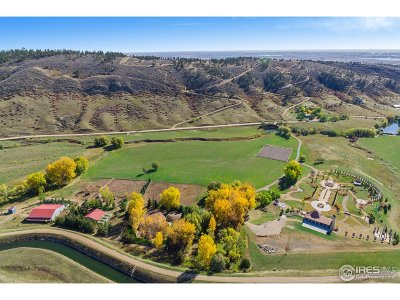 Larimer County Single Family Home For Sale: 603 S County Road 27