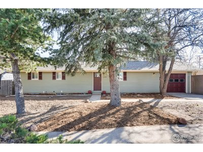 Boulder Single Family Home For Sale: 1490 Chambers Dr