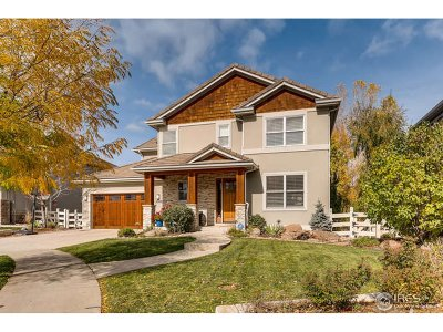 Longmont Single Family Home For Sale: 2002 Hollyhock Ct