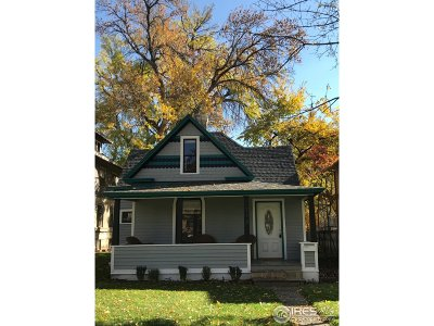 Fort Collins Single Family Home For Sale: 718 Remington St