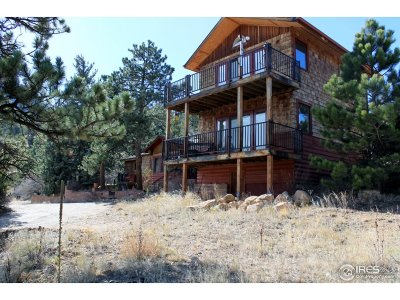 Estes Park CO Single Family Home For Sale: $1,500,000