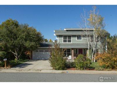 Longmont Single Family Home For Sale: 5411 Gunbarrel Cir
