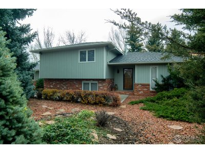 Fort Collins Single Family Home For Sale: 1901 Richards Lake Rd
