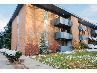 Fort Collins Condo/Townhouse For Sale: 620 Mathews St #115