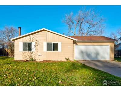 Fort Collins Single Family Home For Sale: 408 Galaxy Way