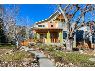 Fort Collins Single Family Home For Sale: 425 Wood St
