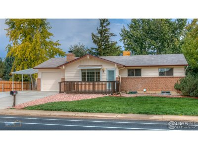 Longmont Single Family Home For Sale: 2708 Mountain View Ave