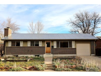 Boulder CO Single Family Home For Sale: $750,000