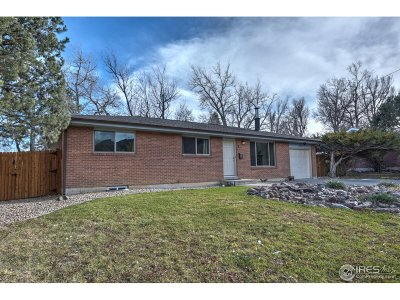 Boulder Single Family Home For Sale: 380 S 36th St