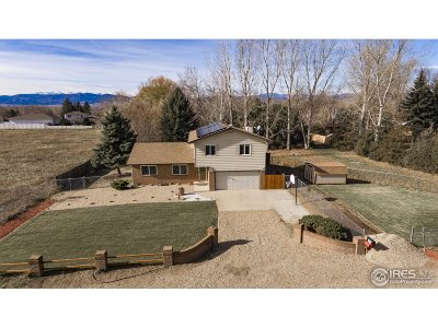 Longmont Single Family Home For Sale: 12649 Woodland Dr
