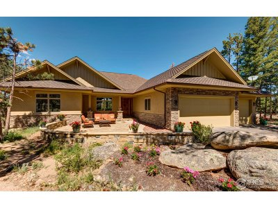 Red Feather Lakes Single Family Home For Sale: 2269 Fox Acres Dr