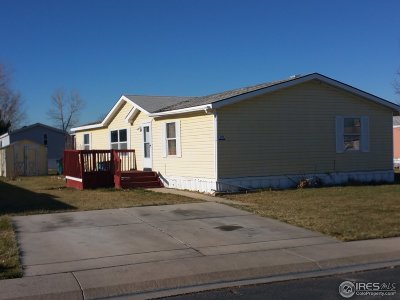 Weld County Single Family Home For Sale: 435 N 35th Ave #159