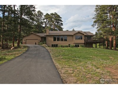 Estes Park CO Single Family Home For Sale: $859,950