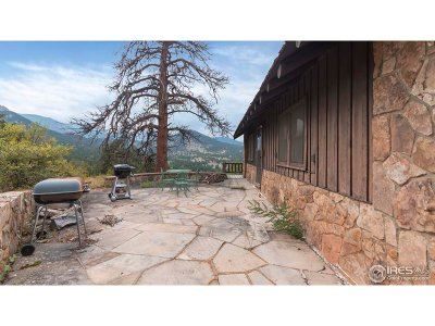 Estes Park CO Single Family Home For Sale: $650,000