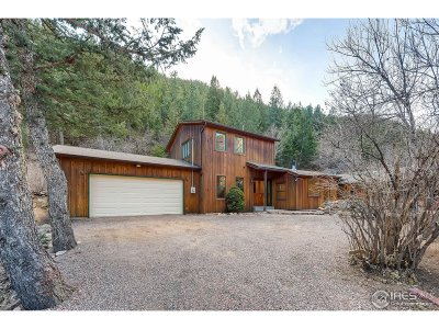 Jamestown Single Family Home Active-Backup: 8493 Lefthand Canyon Dr