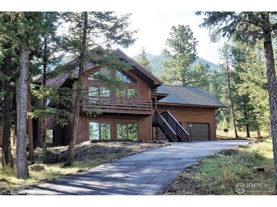 Estes Park Single Family Home For Sale: 2725 Cumulus Dr