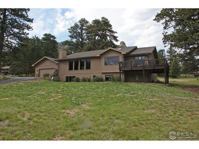Estes Park Single Family Home For Sale: 413 Pawnee Ln