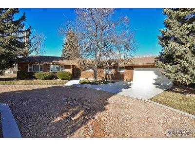Longmont Single Family Home For Sale: 1800 Horseshoe Cir