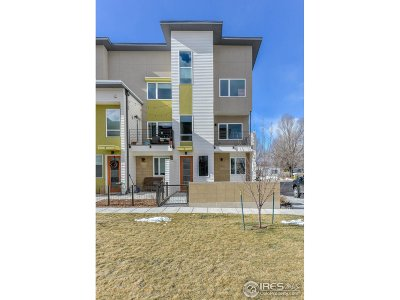 Fort Collins Condo/Townhouse For Sale: 321 Urban Prairie St #5