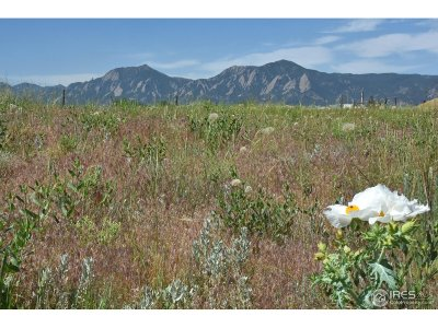 Boulder Residential Lots & Land For Sale: 5864 Rustic Knolls Dr