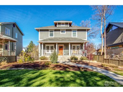 Fort Collins Single Family Home For Sale: 1808 W Mountain Ave