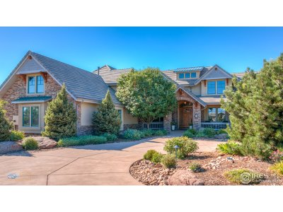 Boulder CO Single Family Home For Sale: $1,845,000
