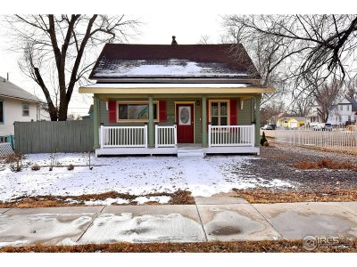 Greeley Single Family Home For Sale: 1128 5th St