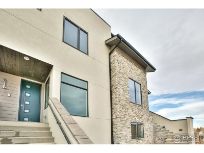 Fort Collins Condo/Townhouse For Sale: 816 Cherokee Dr