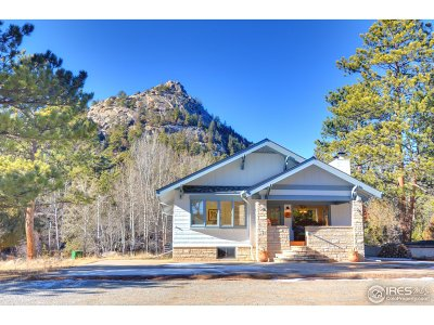 Estes Park CO Single Family Home For Sale: $1,150,000