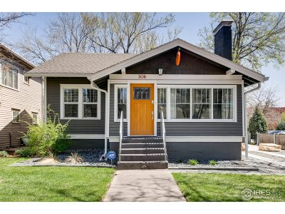 Fort Collins Single Family Home For Sale: 308 S Howes St