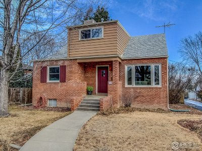 Longmont Single Family Home For Sale: 712 Judson St
