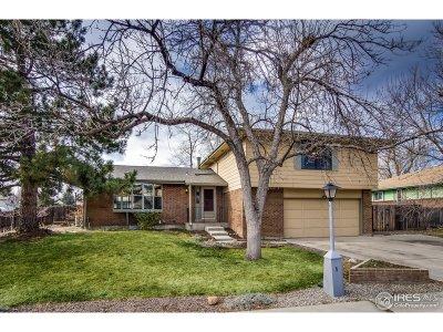 Longmont Single Family Home For Sale: 1501 Elmhurst Dr