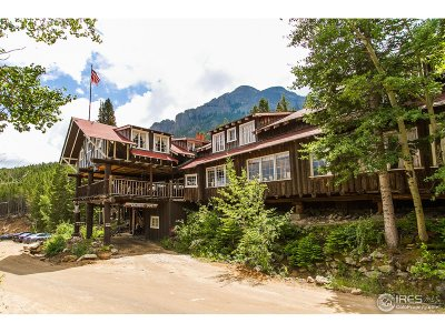 Estes Park Single Family Home For Sale: 4900 Highway 7