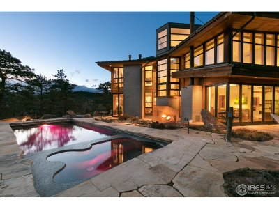 Boulder CO Single Family Home For Sale: $2,895,000
