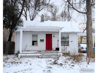 Fort Collins Single Family Home For Sale: 811 Stover St