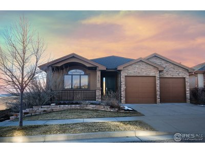 Fort Collins Single Family Home For Sale: 4763 Prairie Vista Dr