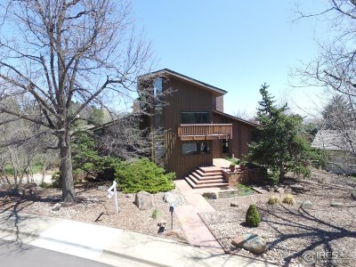 Boulder CO Single Family Home For Sale: $1,799,000