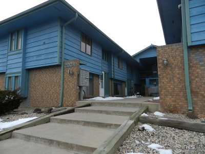 Fort Collins CO Condo/Townhouse For Sale: $180,000