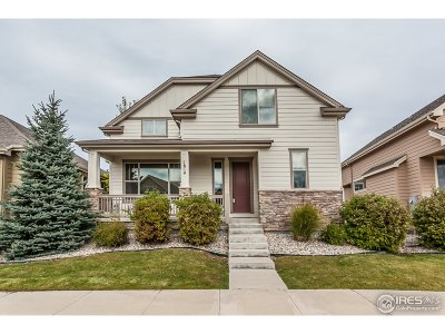 Fort Collins Single Family Home For Sale: 1814 Prairie Ridge Dr