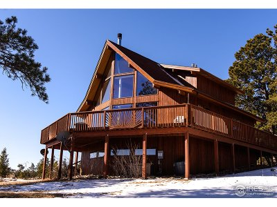 Red Feather Lakes Single Family Home For Sale: 9878 County Road 67j