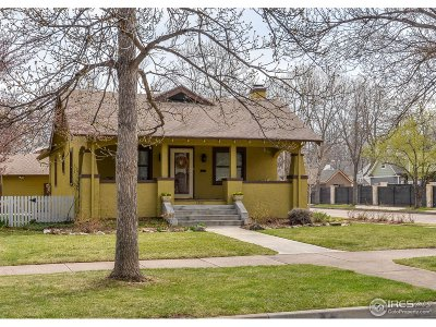 Fort Collins Single Family Home Active-Backup