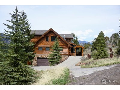 Estes Park Single Family Home For Sale: 3855 Star Way