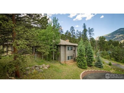 Estes Park Single Family Home For Sale: 1880 Sleepy Hollow Ct