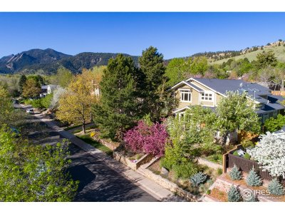 Boulder CO Single Family Home For Sale: $2,700,000