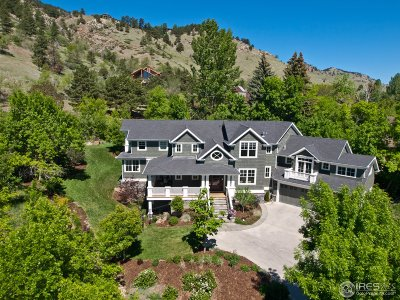 Boulder CO Single Family Home For Sale: $4,500,000