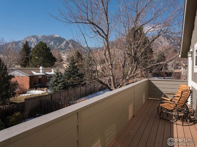 Boulder CO Single Family Home For Sale: $1,386,000