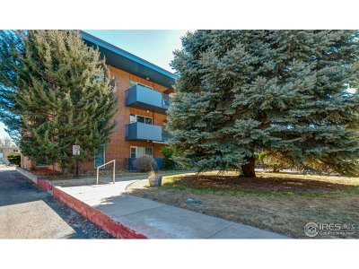 Fort Collins Condo/Townhouse For Sale: 620 Mathews St #304