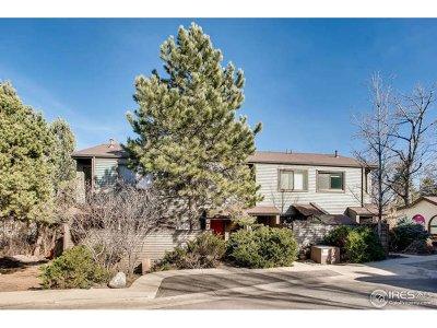 Boulder Condo/Townhouse For Sale: 350 Arapahoe Ave #23